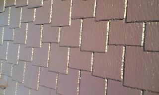 オシャレなコロニアル(カラーベスト)屋根1