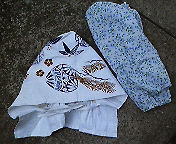 2008夏の帽子&長めの腕カバー
