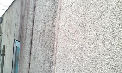 リシン壁の高圧洗浄後2